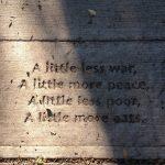 peace sidewalk