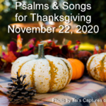 Psalms & Songs for Thanksgiving