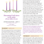 Advent Devotions for Week 4